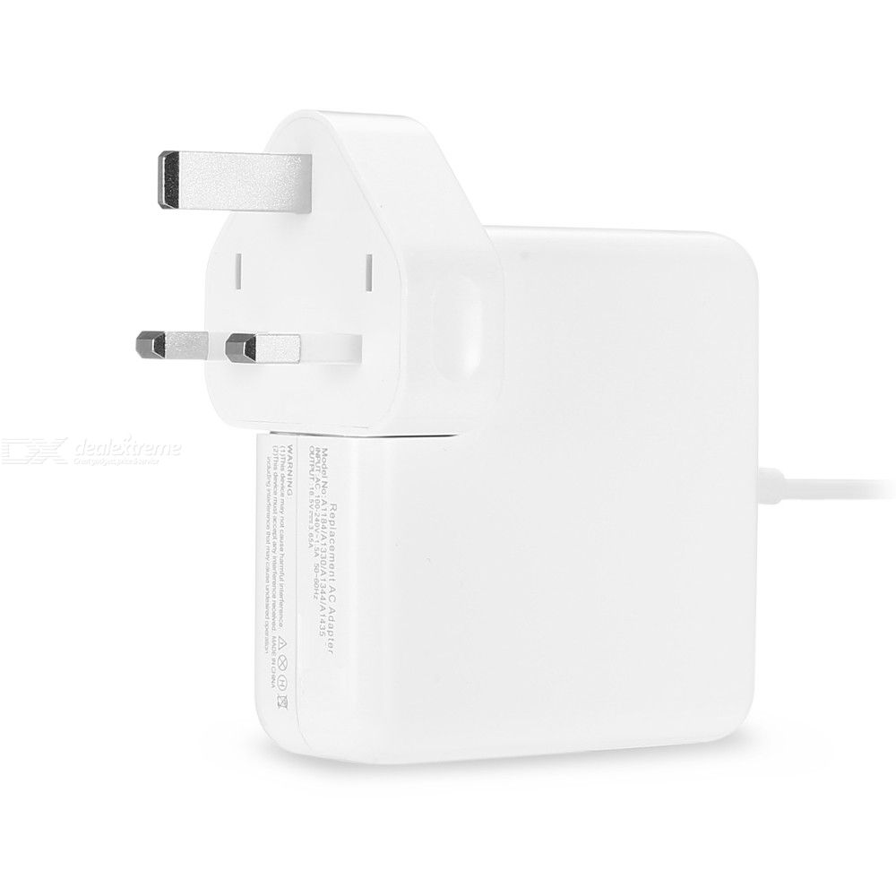 60W Apple L Head / Elbow Laptop Power Adapter Charger for Apple Macbook - UK Plug