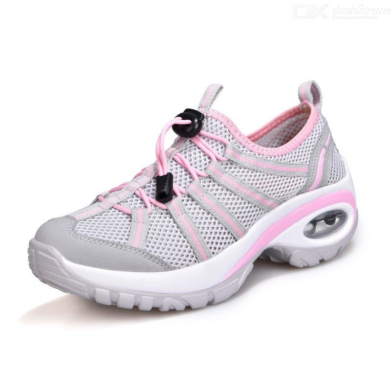 Womens Breathable Sports Shoes Outdoor Air Cushion Running Hiking Shoes Casual Shock-Absorbing...