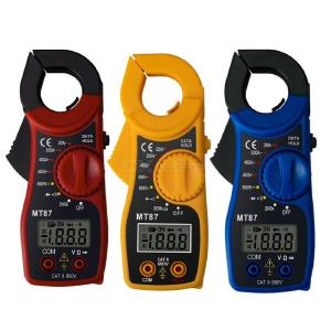 ANENG MT87 Portable Digital Clamp Ammeter Multimeter With AC/DC Voltage Tester AC Current Resistance Multi Test Clamp Meters