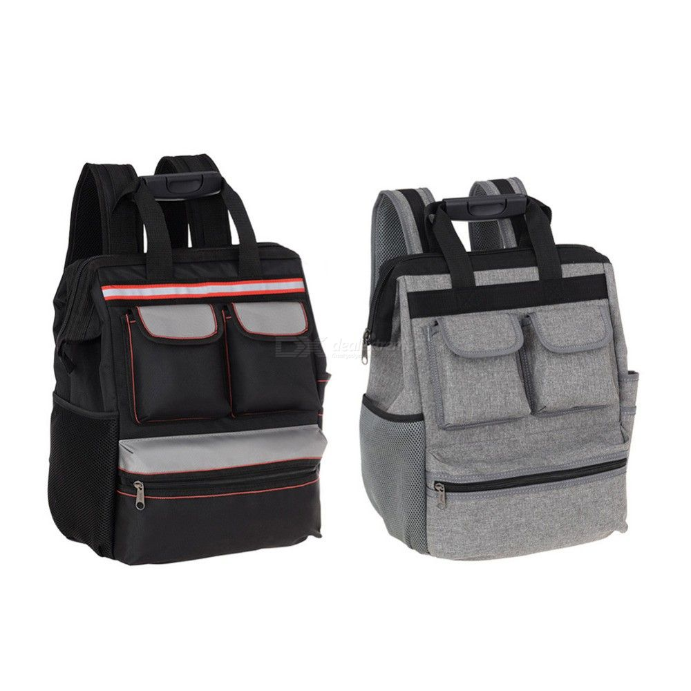 Professional Tool Backpack Durable Oxford Fabric Tool Bags
