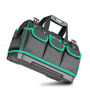 Wide Mount Tool Bag With Waterproof Molded Base W/Organizer Box