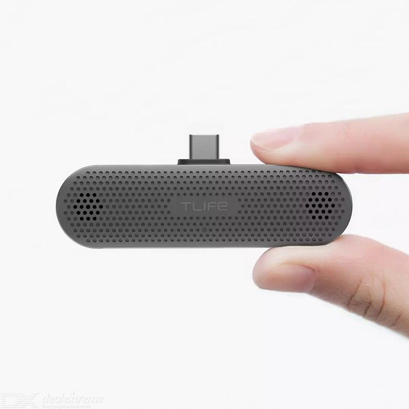 Youpin T-Life Type C Mini Smartphone Microphone Plug-and-Play Sound Seeker For Vlogging