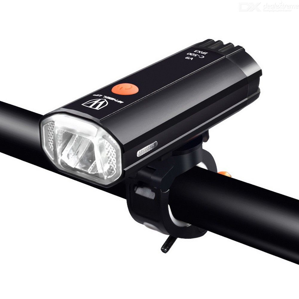 USB Rechargeable Bike Light Waterproof 500LM 800LM Ultra Bright Bicycle Front Lamp