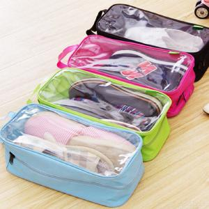 Shoe Bag for Travel Waterproof Dustproof Large Shoes Pouch Packing Organizers with Zipper for Men Women