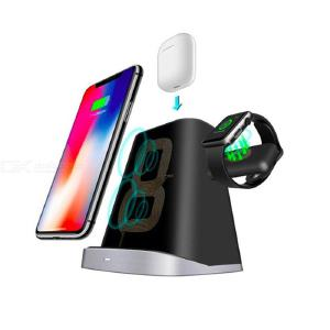 Fast Wireless Charger Qi-Certified Wireless Charging Stand 7.5W for iPhone XS Max/XR/XS/X/8/8 Plus All Qi-Enabled Phones