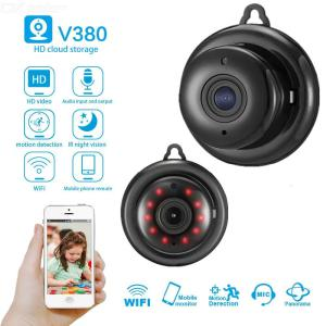 V380 Mini Spy Camera Wireless WiFi IP Security Camcorder HD 1080P Night Vision DV DVR - US Plug