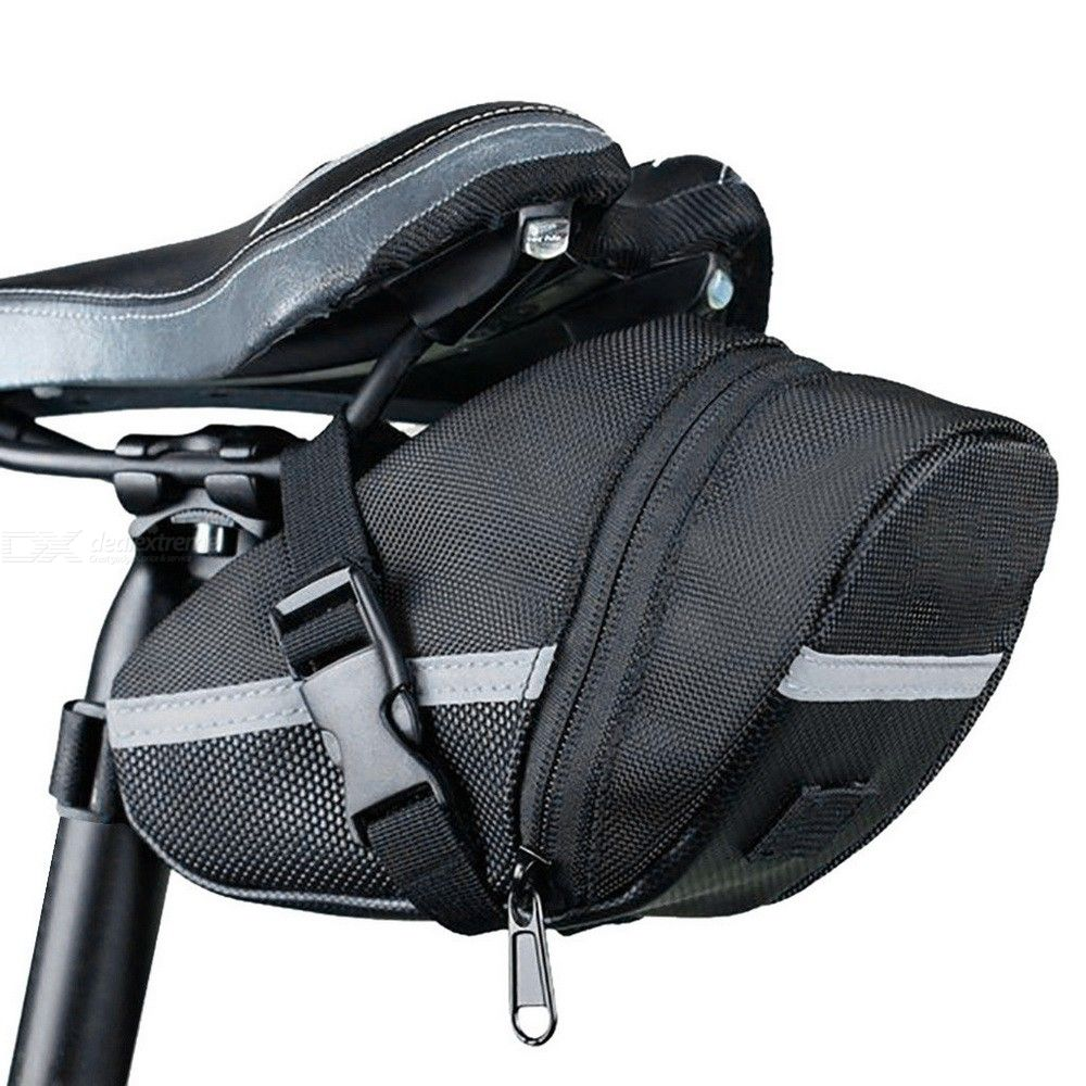 Roswheel Outdoor Cycling Bike Saddle Bag Seat Tail Pouch for Bicycle Unisex