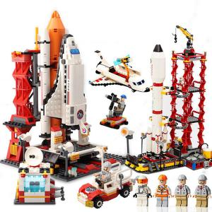 Space Centre Building Blocks Kit Educational Toy For Kids Children Adults