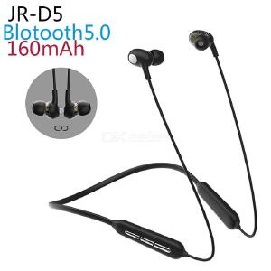 JOYROOM JR-D5 Double Moving Coil Sports Bluetooth Earphone with Mic