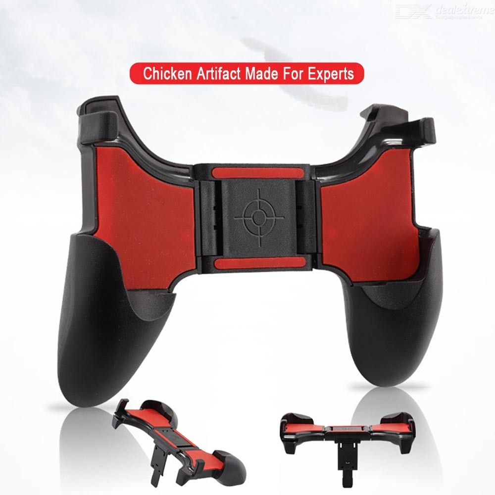 S-01 Mobile Game Controller Gaming Trigger Joystick For PUBG Compatible With 4.7 To 6.5 Inch Phone
