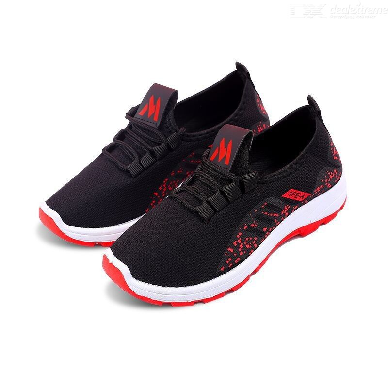 Womens Mesh Sneakers Breathable Anti-Slip Running Shoes