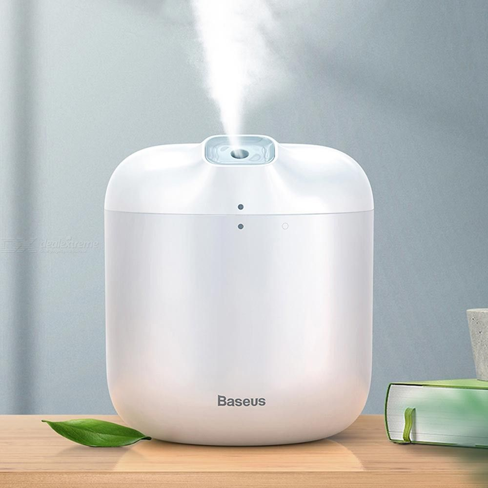 600ML Portable 2-Mode USB Humidifier With Night Light For Home Baby Room Bedroom Office