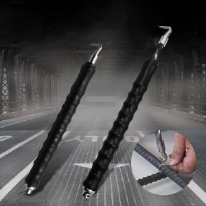 Semi-Automatic Rebar Hook Straight Pulling Wire Tie Strapping Artifact Steel Bar Building Tool