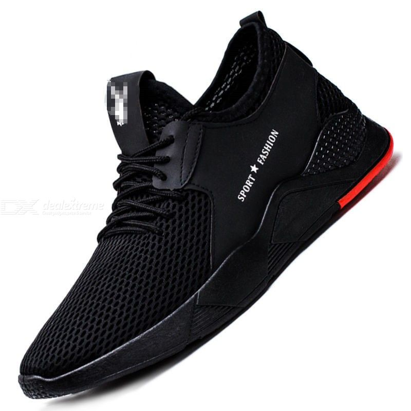 Casual Lightweight Lace Up Sports Athletic Shoes Sneaker For Men