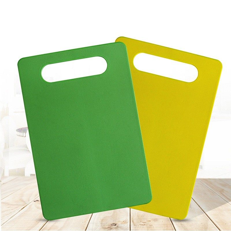 Portable Non-Slip PP Plastic Cutting Board Chopping Block For Outdoor Picnic