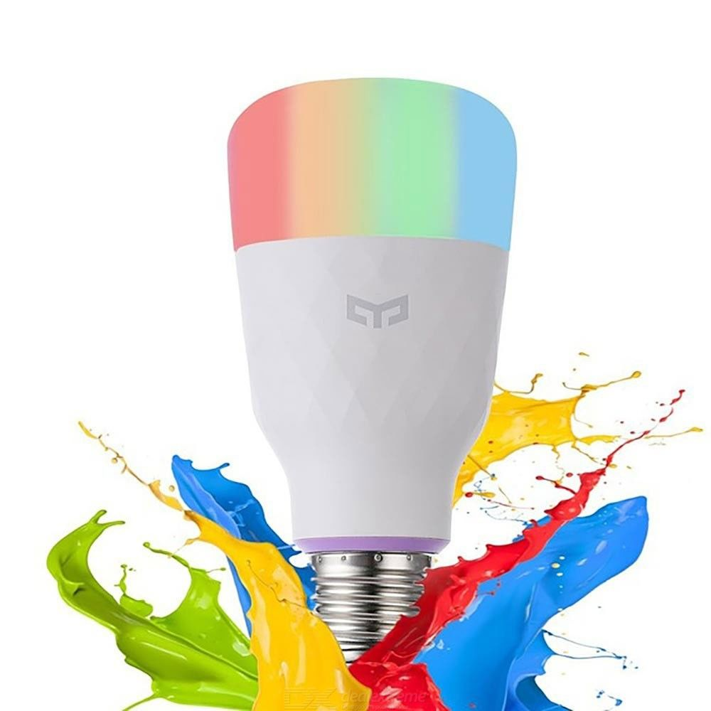 Dx coupon: Yeelight Smart LED Light 10W 800 LM E27 Wireless Controlled Lamp