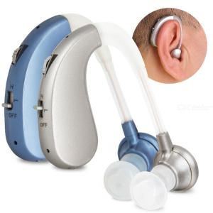 VHP-202s Rechargeable Hearing Aids Kit USB Headphone Deafness Medical Ear Sound Machine Random Color