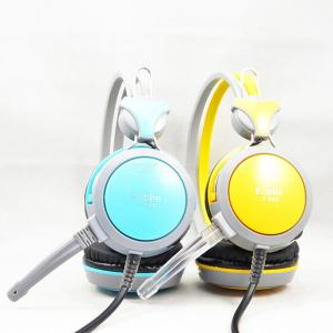 Kubite T-590 Portable 3.5mm Wired Headphone Bass Sound Gaming Headset With Microphone For Computer Laptop