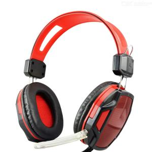 KUBITE K-166 Professional 3.5mm Wired CF Gaming Headphone Subwoofer Headset With Mic For Computer Laptop
