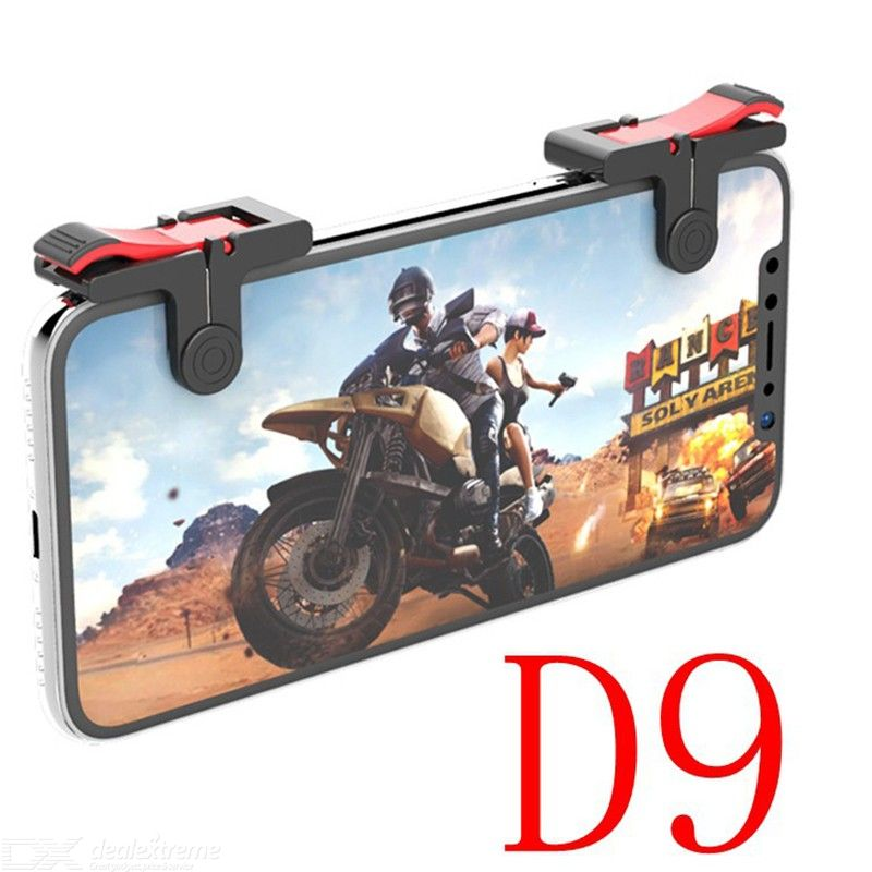 D9 Shooting Press Button Mobile Phone Gamepad Game Controller Handle Auxiliary Accessory For PUBG Games