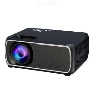A20 Portable Micro Projector, HD 1080P Mini TV Projector Home Theater System Up To 100 Inch Display - US Plug