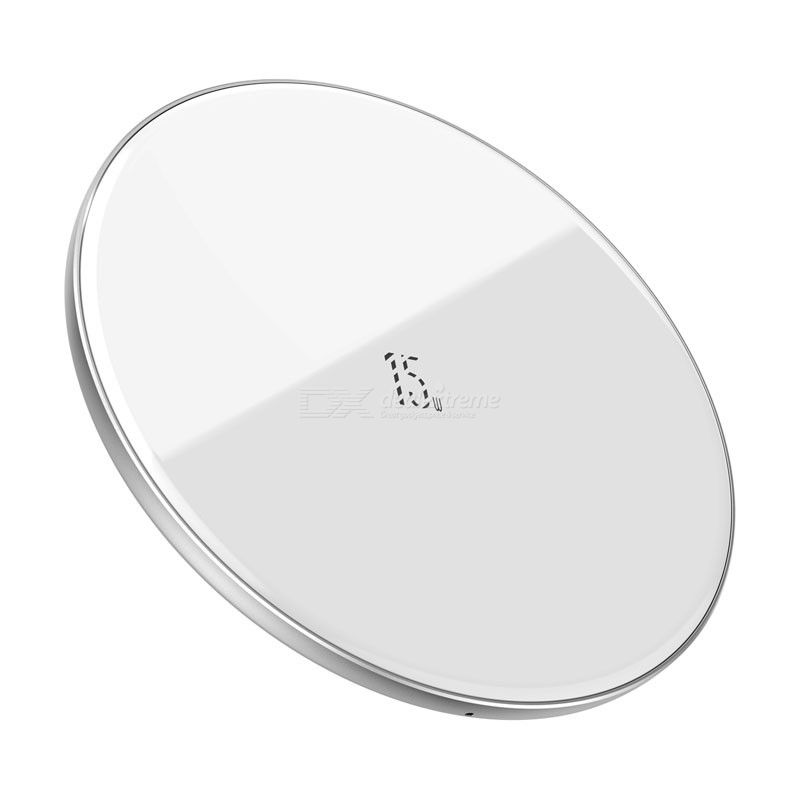 Baseus Wireless Charger 15W Slim Light Wireless Charging Pad For IPhone Android AirPods/ AirPods Pro
