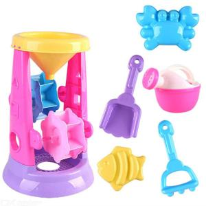 6Pcs Sand Funnel Scoop Toy Set For Kids Summer Beach Playing Tool