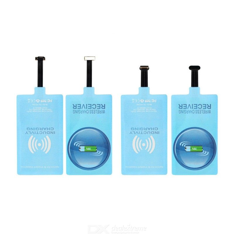 Wireless Charger Receiver Qi Receive Patch Module For APPLE IPHONE Type-C Android Phones