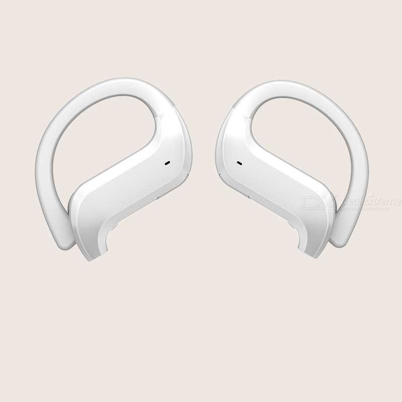 MD03 TWS Wireless Earhook Headset Bluetooth 5.0 Binaural Earbuds With Mic For Sports Running Exercise