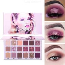 Makeup Eyeshadow Palettes 18 Colors Waterproof Long Lasting Highly Pigmented Glitter Matte Eyeshadow Palette