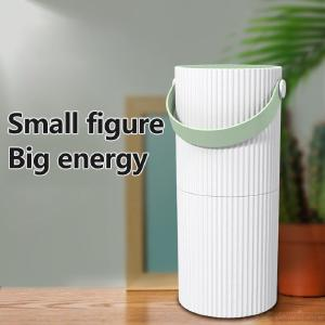Household Smart Touch Control Air Purifier, Portable PM2.5 Cleaner Air Filter For Haze Dust Formaldehyde Removing