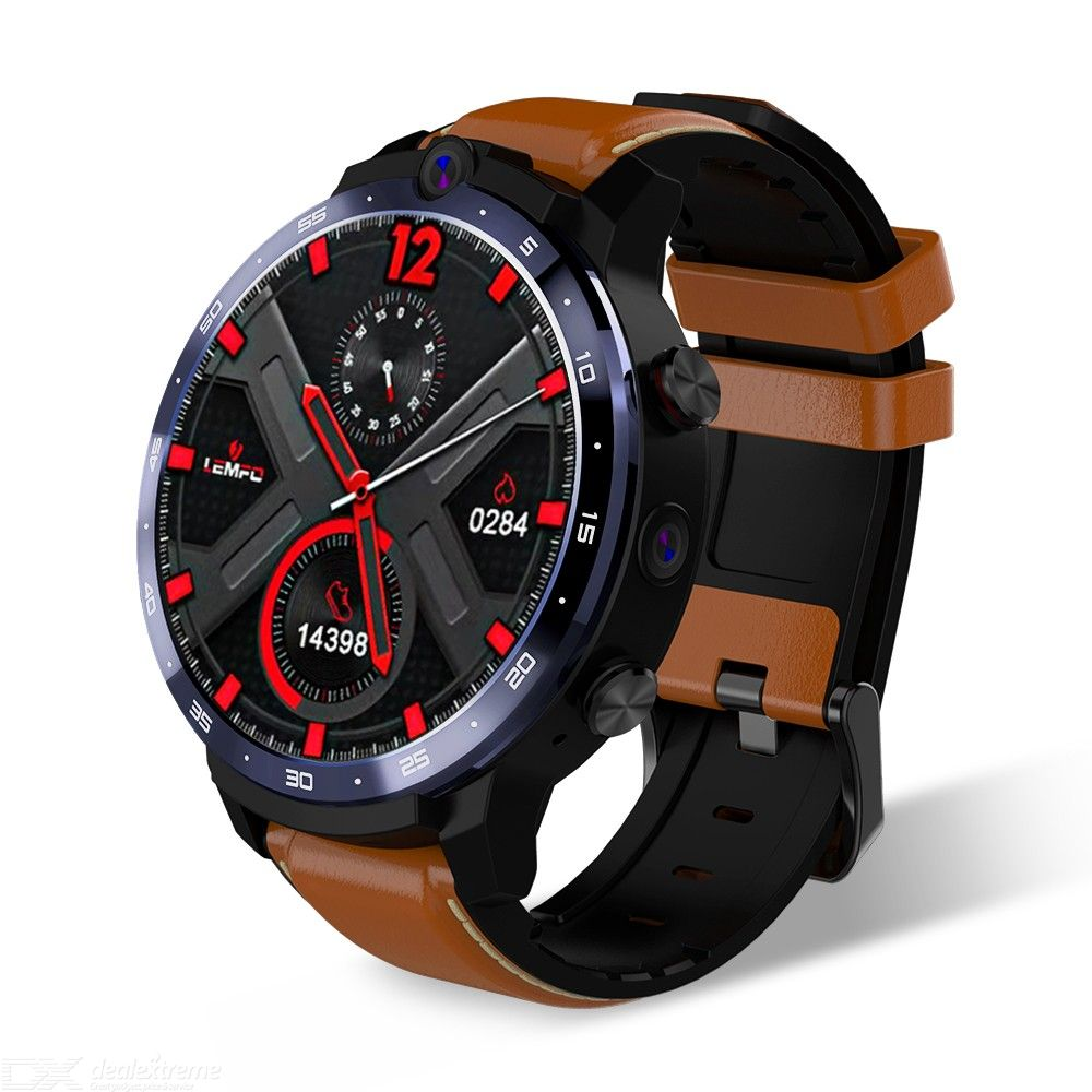 LEM12 1.6 Inch Smart Watch With 5MP + 8MP Cameras 3GB RAM 32GB ROM 9 Sports Modes Face Recognition