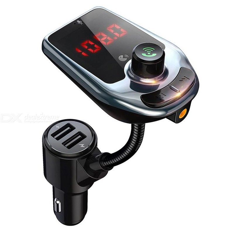 HandsFree Wireless Bluetooth Car Mp3 Player FM Transmitter Dual  USB Charger