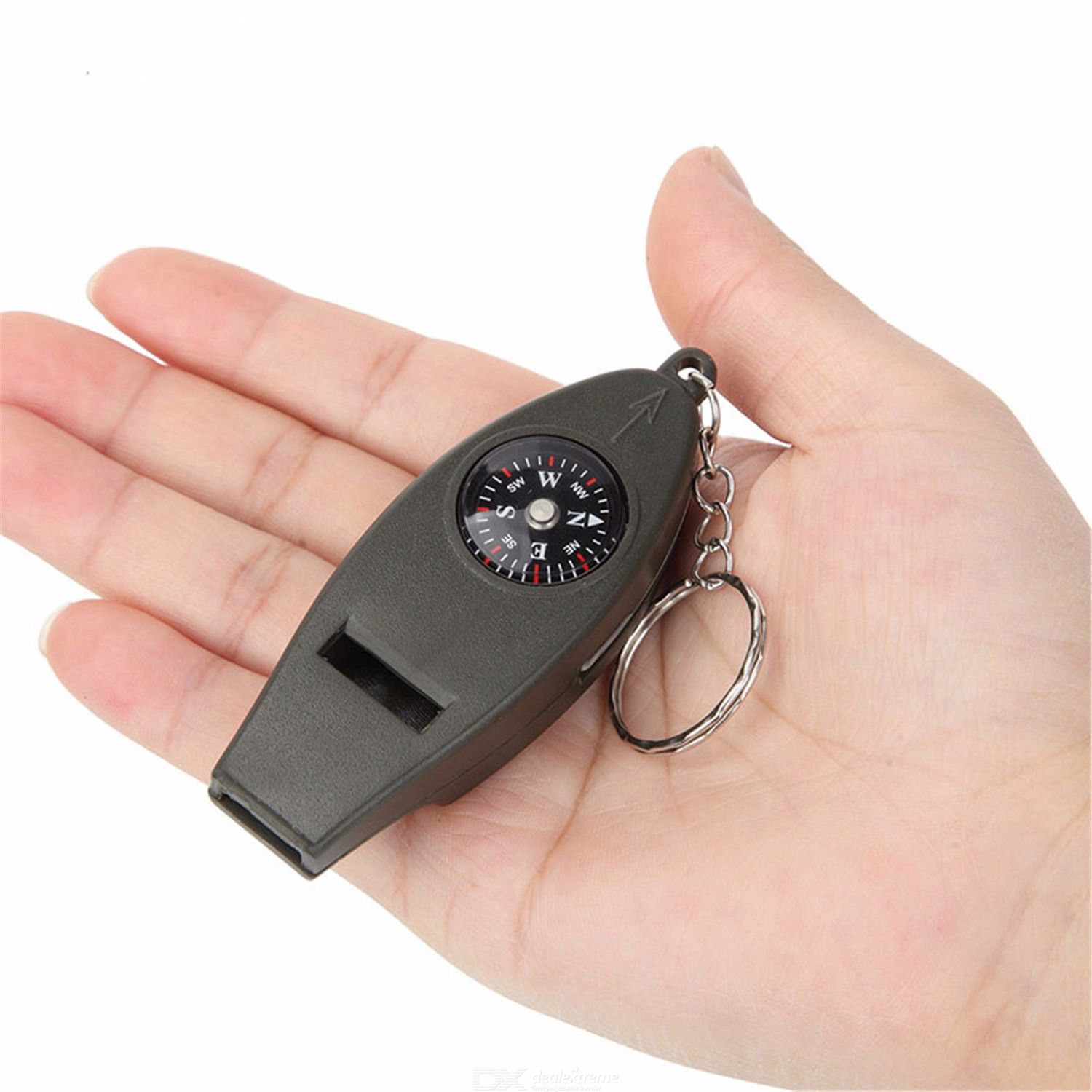 Thermometer | Survival | Keychain | Compass | Outdoor | Travel | Kit