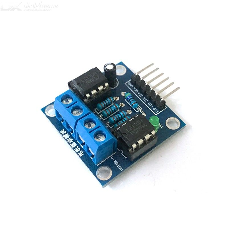 DC Motor Drive Module, Double Way Positive and Negative Rotation Motor