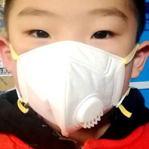 Masks Kids Face Mask Anti Pollution PM 2.5 Filter 5-Layer Anti-Dust Cotton Mouth Mask for Children