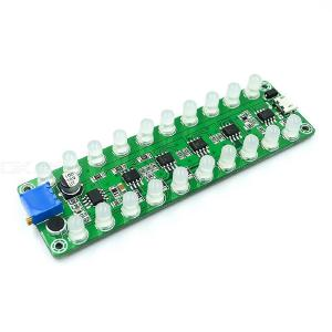LED Indicator For Sound Control Induction Amplifier Frequency Spectrum Audio Level Meter