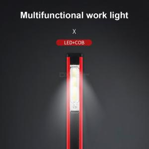 Multifunctional Portable 5-Mode Flashlight, Work Maintenance Lamp With Magnet Mini Torch Light For Outdoor Lighting