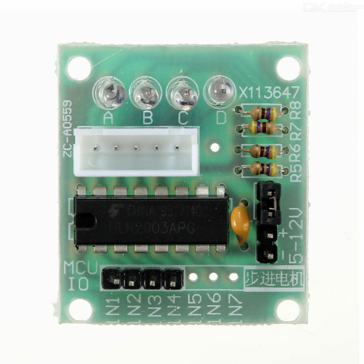 28BYJ-48 5V Stepper Motor with Controller Module for Arduino ULN2003