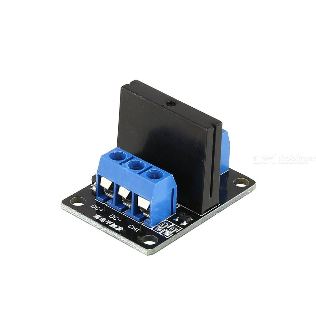 G3MB-202P 1 Channel Solid State Relay, 12V DC 2A Intelligent Electronic Solid State Low Level Relay Module for DIY Arduino