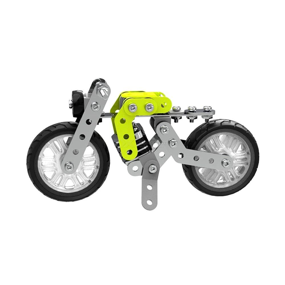 SW-001 Take-A-Part Building Motorcycle DIY Stainless Steel Assembly Motorbike Toy For Boys Girls Kids