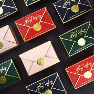 Paper Gift Boxes Chocolate Candy Boxes Favour Boxes For Wedding Banquet Birthday Engagement Party, 20PCS
