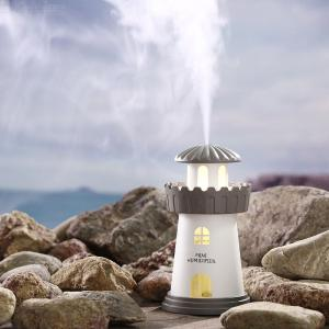 USB Air Humidifier 150ML Light House Humidifying Machine With Nightlight For Car Office Small Space