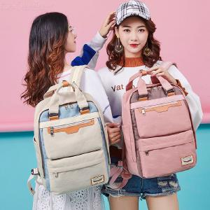 14 Inch Classic Durable Nylon School Bag Handbag Travel Leisure Backpack With Handle Design For Students Girls