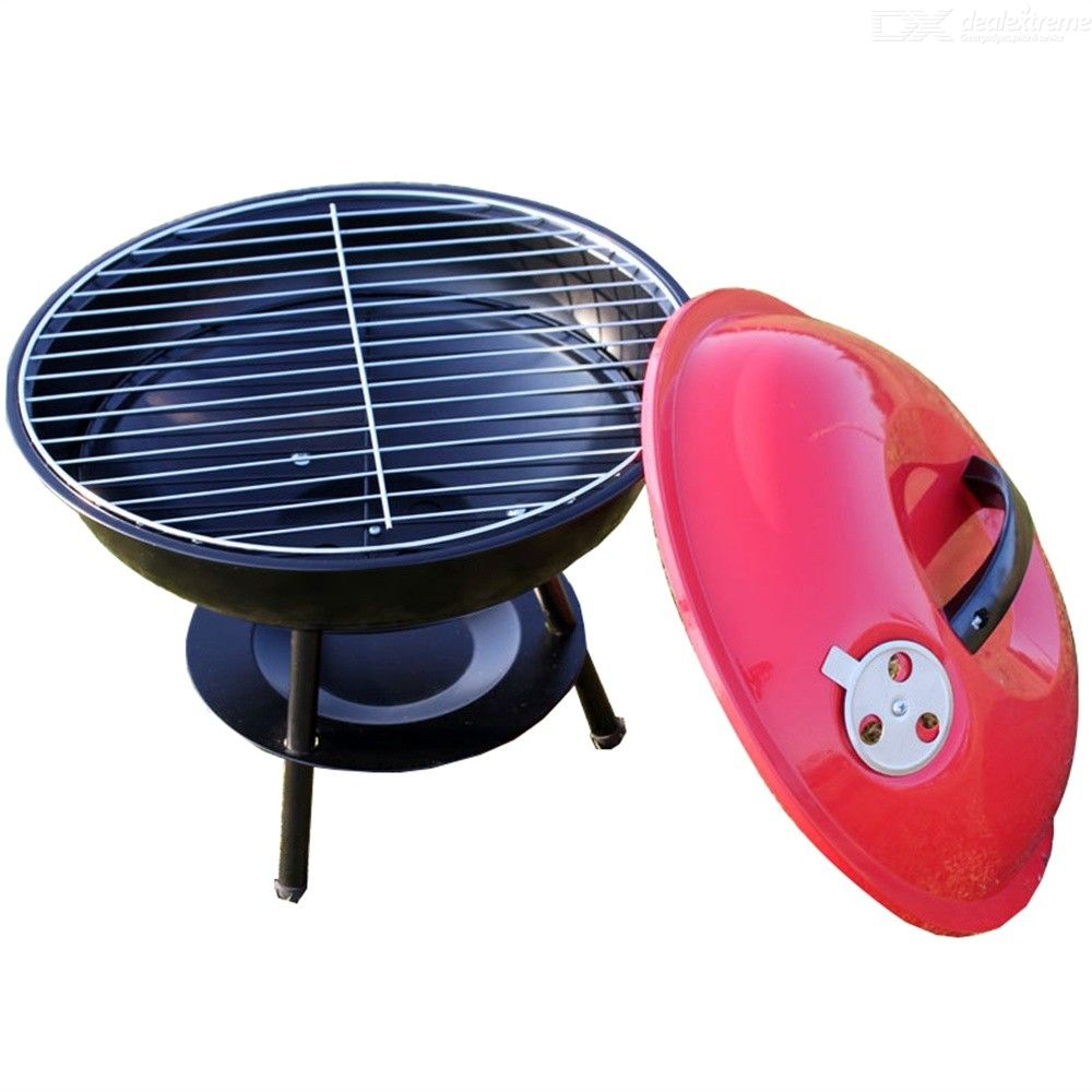 Portable Charcoal BBQ Grill Outdoor Picnic Barbecue Cooking Tools