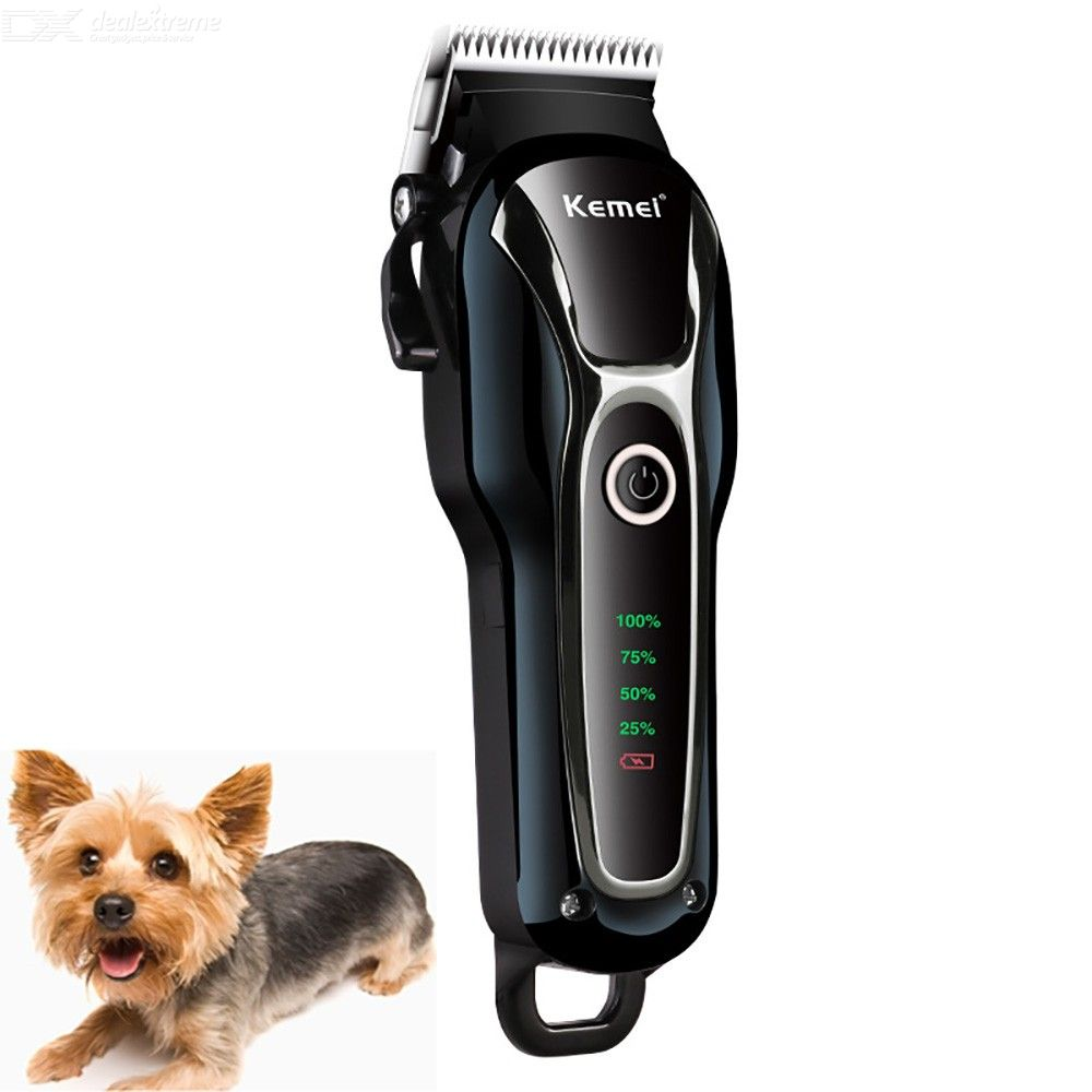 KM-1991 Dog Shaver Clipper Electric Rechargeable Hair Clippers Set For Dogs Cats Pets