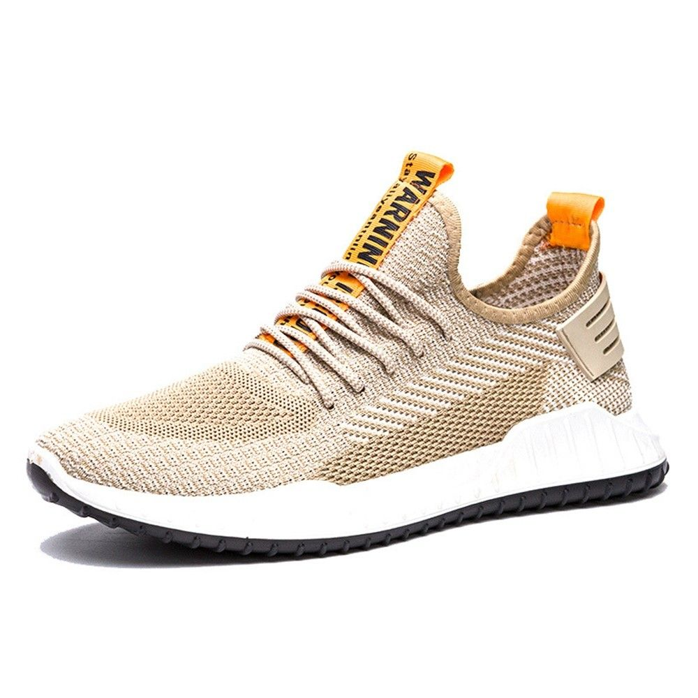 Mens Breathable Lace Up Sneakers Autumn Casual Running Sports Shoes
