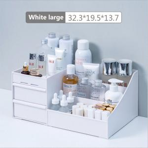 Multi Drawers Desktop Makeup Storage Box Large Capacity Cosmetic Table Organizer Jewelry Container - L Size