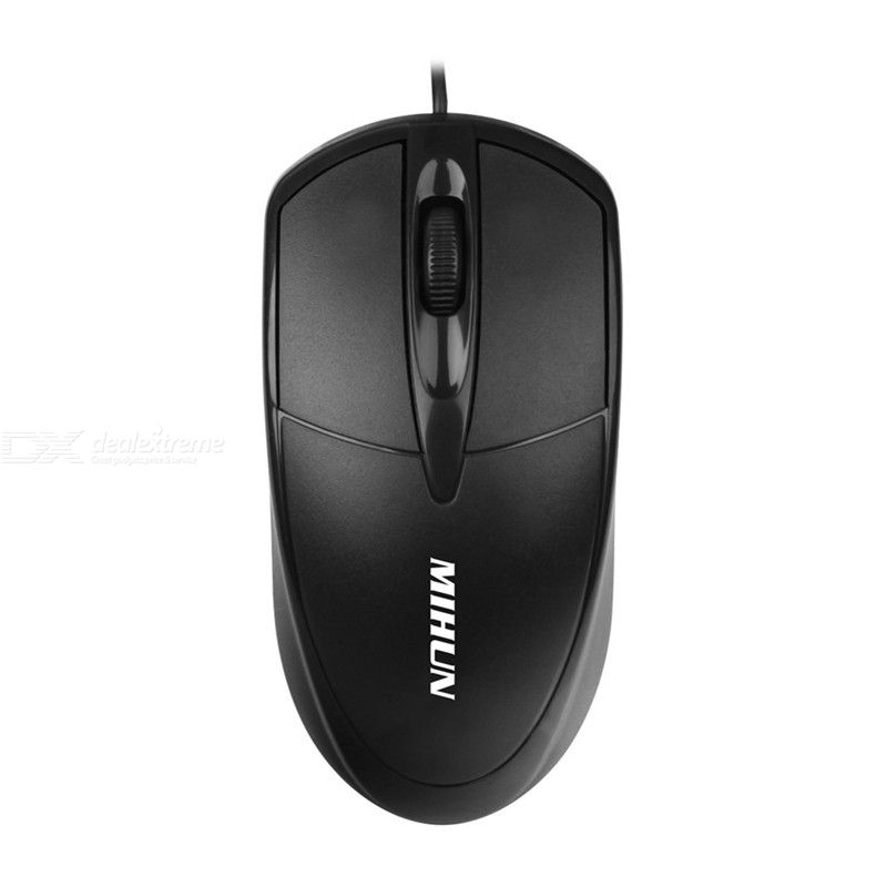 Portable USB Wired Mouse Ergonomic Mice For Desktop Computer Laptop Notebook