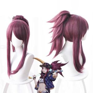 Cosplay Wig Ponytail Synthetic Hair Long Hair Wig For Anime Cosplay Costume